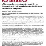 Article de Marie-Eve Fournier, journaliste au journal Les Affaires, datant du 29.09.2012