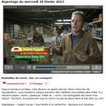 André Forget propriétaire du Dépanneur Forget (Montréal) en entrevue à l'émission l'Épicerie.